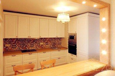 Классическая кухня и шкаф по ул. Гурского
