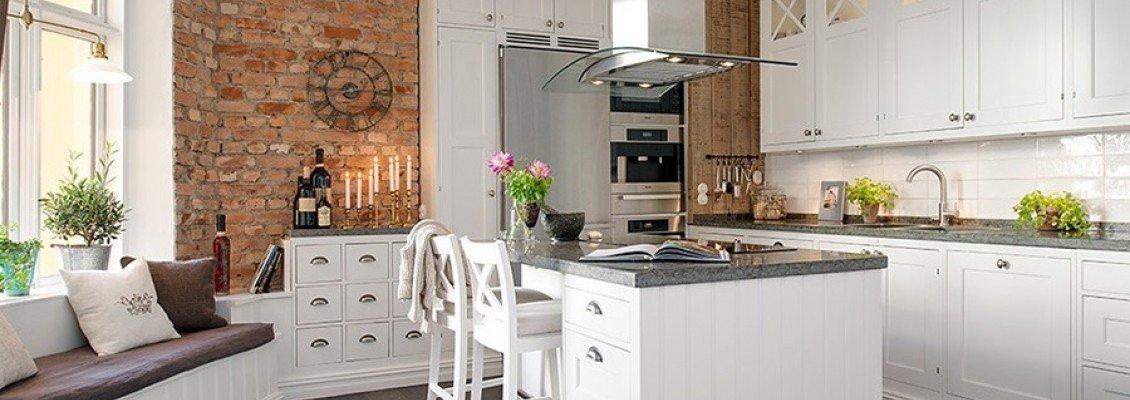 Кухня в скандинавском стиле: «свежий» стиль, идущий на смену лофту!
